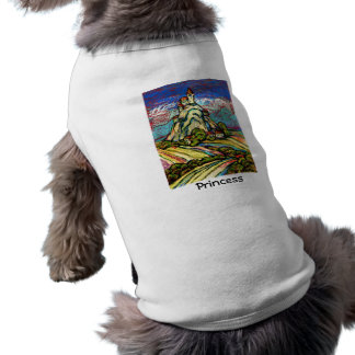 Hill Castle Fantasy Dog Tee