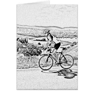 Hill climbing card