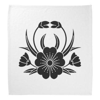 Hill crab cherry tree head kerchief