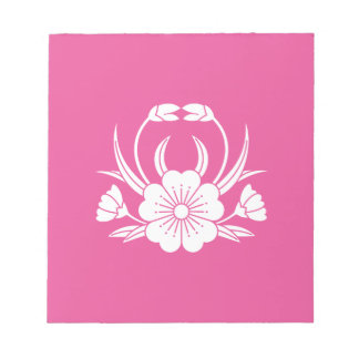 Hill crab cherry tree notepad