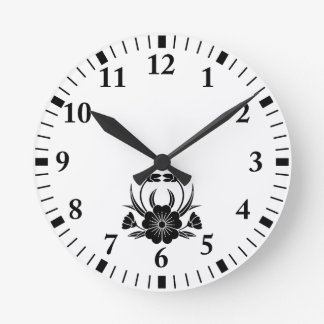 Hill crab cherry tree wallclocks