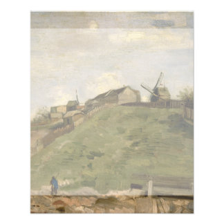 Hill of Montmartre with Stone Quarry by Van Gogh 11.5 Cm X 14 Cm Flyer