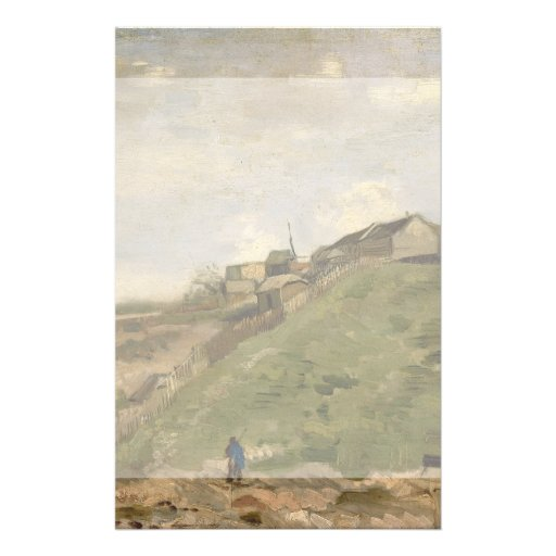 Hill of Montmartre with Stone Quarry by Van Gogh Flyers