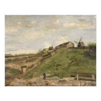 Hill of Montmartre with Stone Quarry by Van Gogh Photographic Print