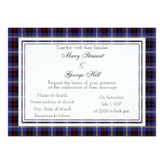 Hill Scottish Wedding Invitation