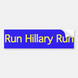 Hillary 2008 bumper sticker