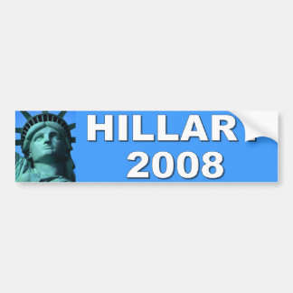 hillary 2008 bumper stickers
