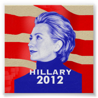 Hillary 2012 Poster