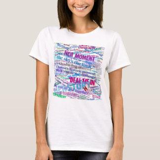 Hillary 2016 Abstract Headline Collage T-Shirt