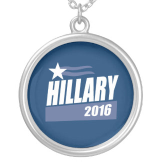 HILLARY 2016 CAMPAIGN BANNER JEWELRY