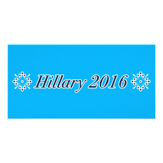 Hillary 2016 (Choose Your Own Color) Photo Card