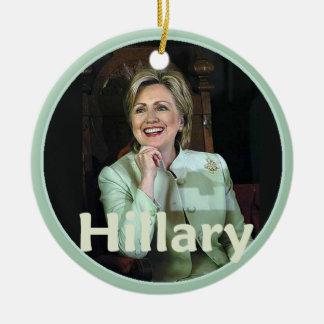 Hillary 2016 christmas ornament