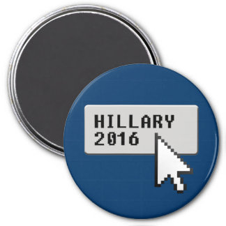 HILLARY 2016 CURSOR CLICK FRIDGE MAGNETS