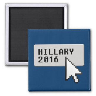 HILLARY 2016 CURSOR CLICK REFRIGERATOR MAGNET