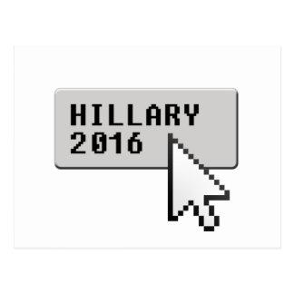 HILLARY 2016 CURSOR CLICK -.png Postcard