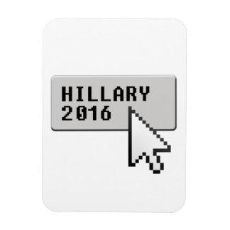 HILLARY 2016 CURSOR CLICK -.png Rectangular Photo Magnet