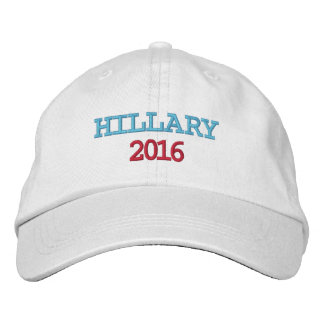 Hillary 2016 embroidered cap
