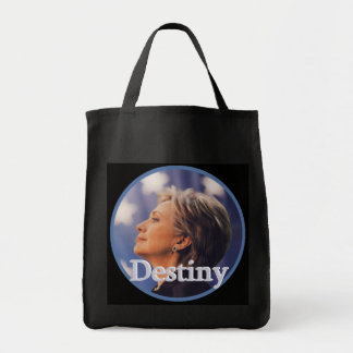 Hillary 2016 grocery tote bag