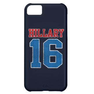 Hillary 2016, Grunge Retro Varsity Case For iPhone 5C
