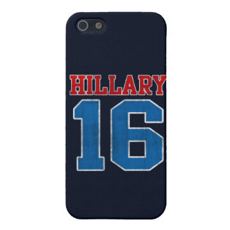 Hillary 2016, Grunge Retro Varsity iPhone 5 Case