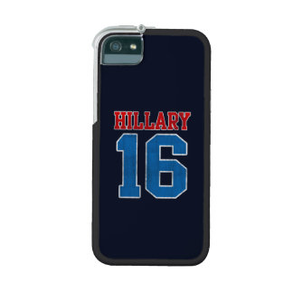 Hillary 2016, Grunge Retro Varsity iPhone 5 Cases