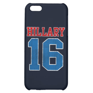 Hillary 2016, Grunge Retro Varsity Cover For iPhone 5C