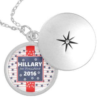 Hillary 2016: I'm ready Round Locket Necklace