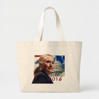 Hillary 2016 jumbo tote bag