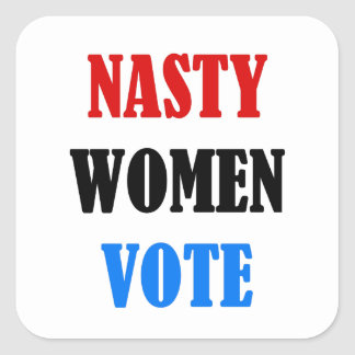 Hillary 2016 Nasty Woman Vote sticker