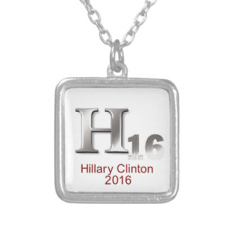 Hillary 2016 personalized necklace