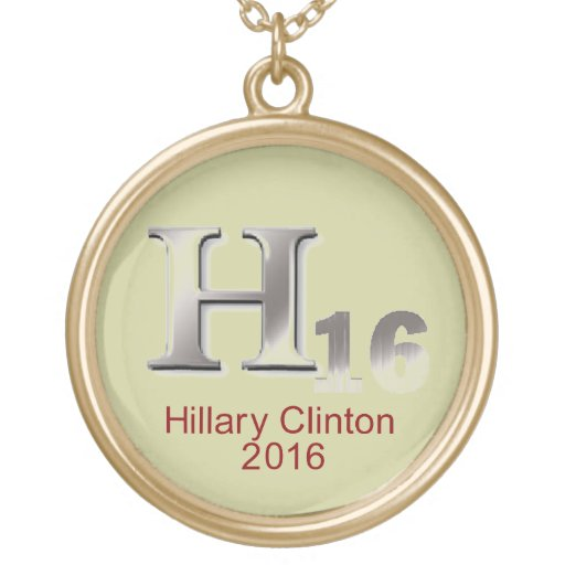 Hillary 2016 Necklace