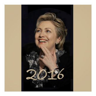 Hillary 2016 posters