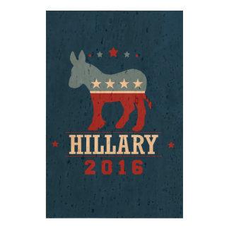 HILLARY 2016 ROCKWELL CORK PAPER PRINTS
