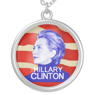Hillary 2016 round pendant necklace