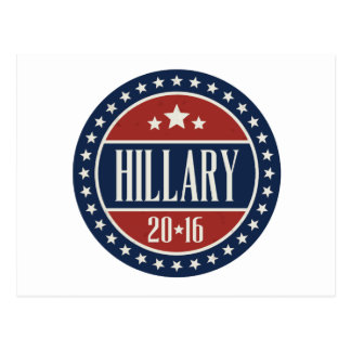 HILLARY 2016 STARCIRCLE -.png Postcards