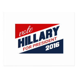 HILLARY 2016 SUPPORTER -.png Post Card