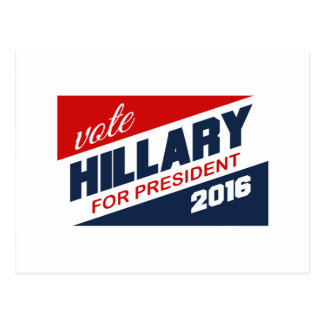 HILLARY 2016 SUPPORTER -.png Post Cards
