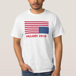 HILLARY 2016 UPSIDE DOWN FLAG T-Shirt