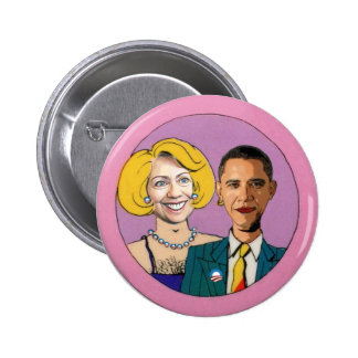 Hillary and Barry 6 Cm Round Badge