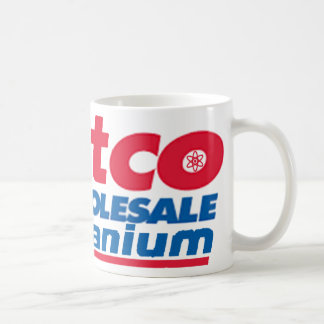 Hillary and Bill's Uranium Wholesale Business Gear Coffee Mug