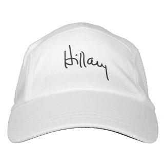 Hillary Autograph (black) -.png Hat