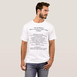 Hillary better President T-Shirt