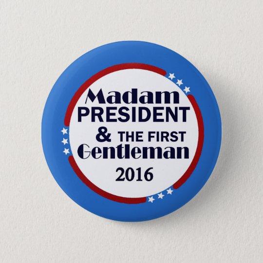 Hillary & Bill Clinton 6 Cm Round Badge
