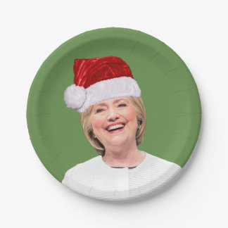 Hillary Claus - Holiday Party Magic - Paper Plate