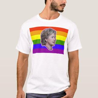 Hillary Clinto 2016 LGBT Democrat Progressive T-Shirt