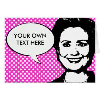 Hillary Clinton 2012 Greeting Card