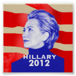 Hillary Clinton 2012 Poster