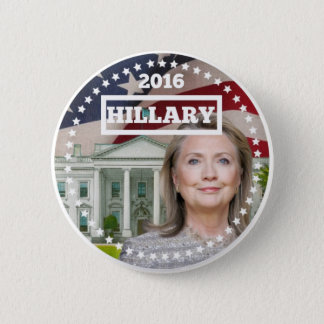 Hillary Clinton 2016 6 Cm Round Badge