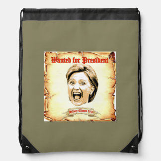 Hillary Clinton 2016 back pack. Drawstring Bag