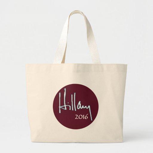 Hillary Clinton 2016 Canvas Bags